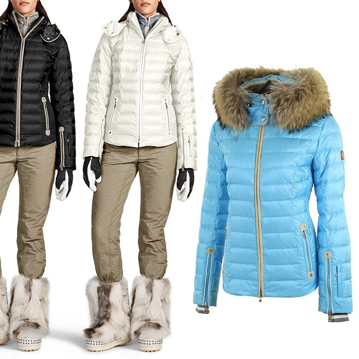 Best For the Ski Bunnies and Snow Angels - Bogner Kylie-Dp Jacket With Fur