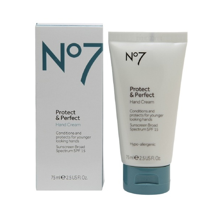 Best Anti Aging Hand Creams - Boots No7 Protect and Perfect Hand Cream