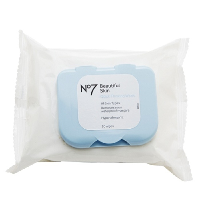 Best Facial Cleansing Towelettes - Boots No7 Quick Thinking 4-in-1 Wipes