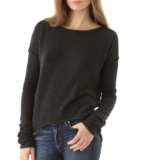 Best Cashmere Crewnecks - Bop Basics Infinite Cashmere Sweater