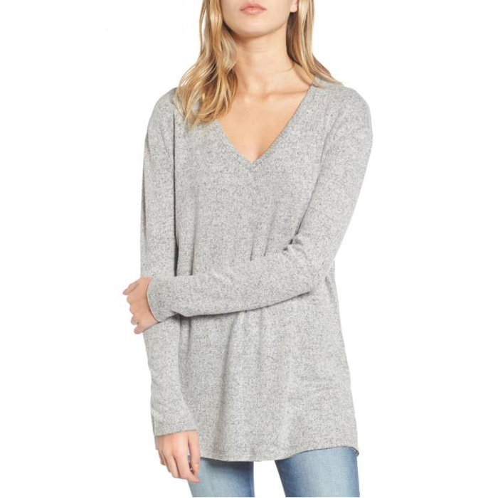 Best Lightweight Sweaters - BP V-Neck Long Sleeve Sweater
