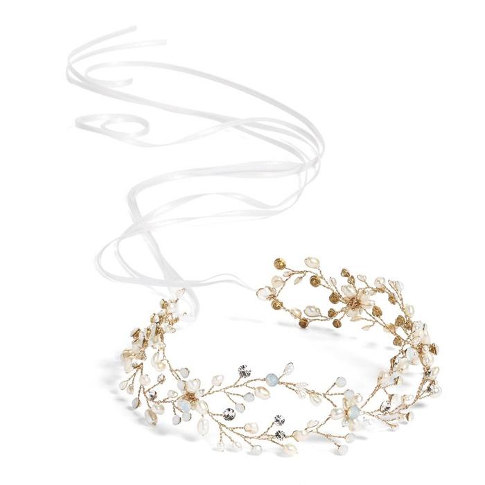 9ba4e6f46f5f2 Brides & Hairpins Arabella Jeweled Halo & Sash