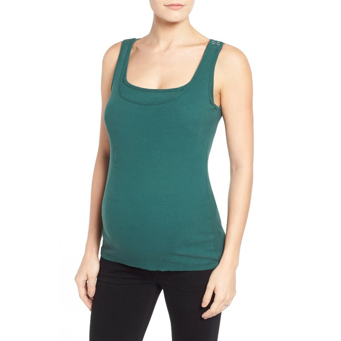 Best Nursing Tanks - Bun Maternity Maternity/Nursing Tank