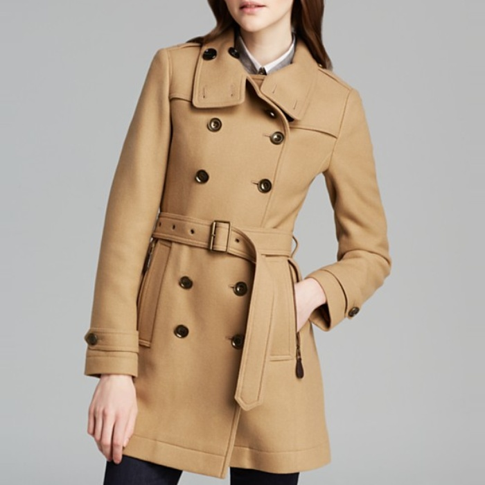Best Camel Coats - Burberry Brit Daylesmoores Coat