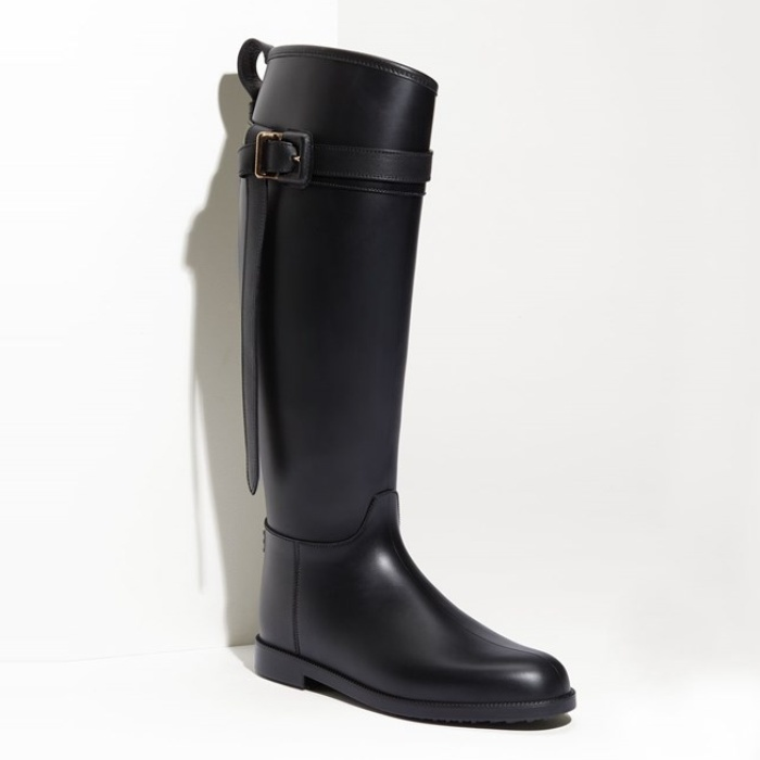 Best Boots made for walking and gifting - Burberry Rubber Riding Boot