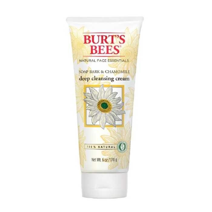 Best Natural Face Cleansers - Burt's Bees Deep Cleansing Cream