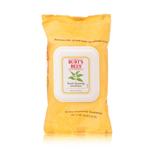 Best Facial Wipes - Burt's Bees Facial Cleansing Towelette