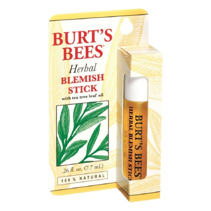 Best Acne Spot Treatments - Burt's Bees Herbal Blemish Stick
