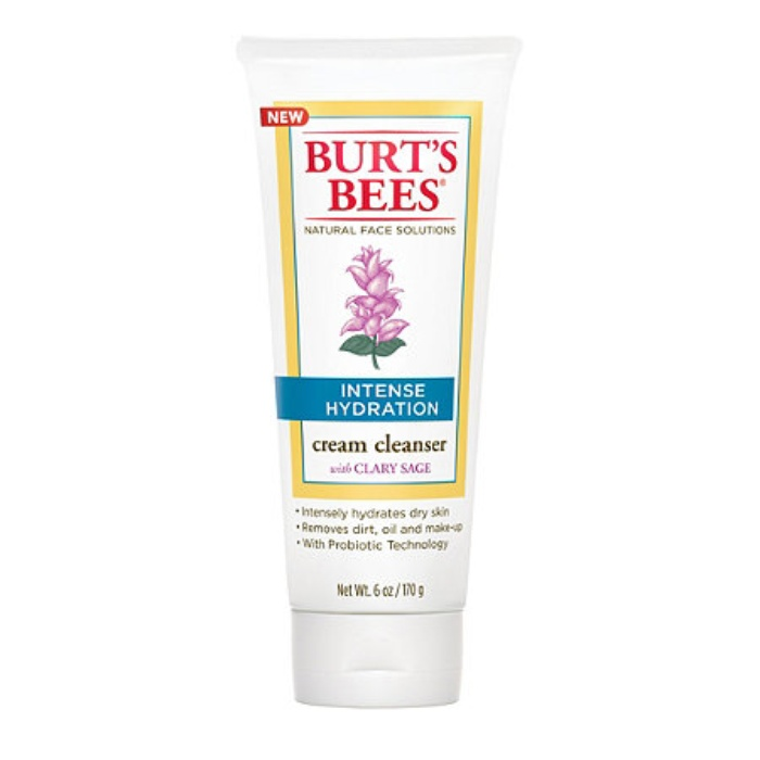 Best Face Cleansers for Sensitive Skin - Burt's Bees Intense Hydration Cream Cleanser