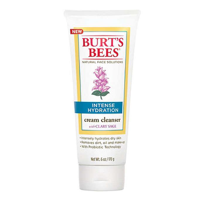 Best Drugstore Face Cleansers - Burt's Bees Intense Hydration Cream Cleanser