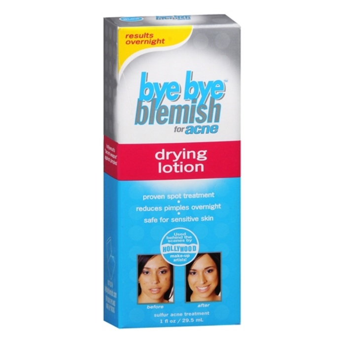 Best Acne Spot Treatments - Bye Bye Blemish Drying Lotion