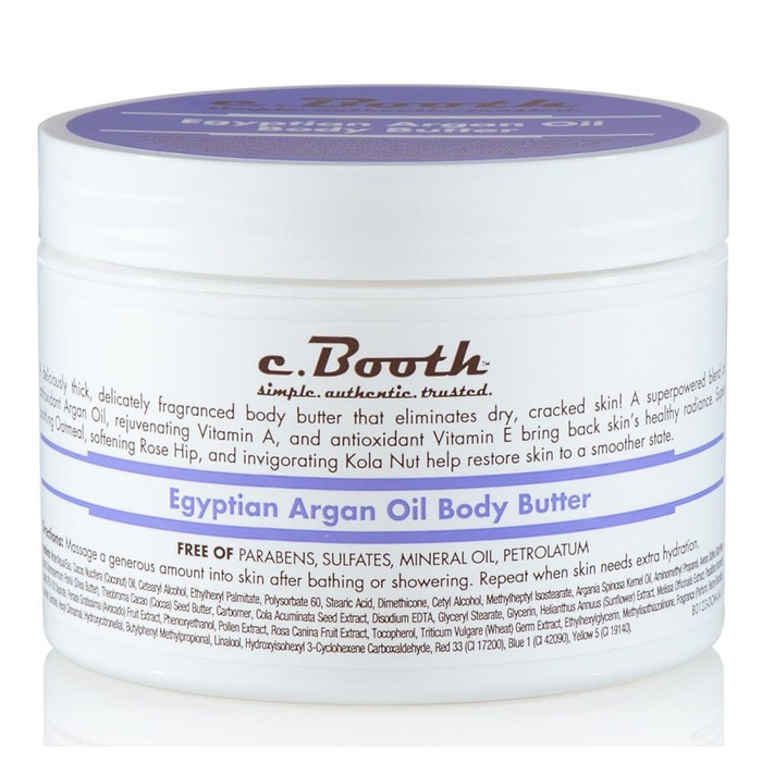 Best Argan Oil Beauty Products - c. Booth Egyptian Argan Oil Body Butter