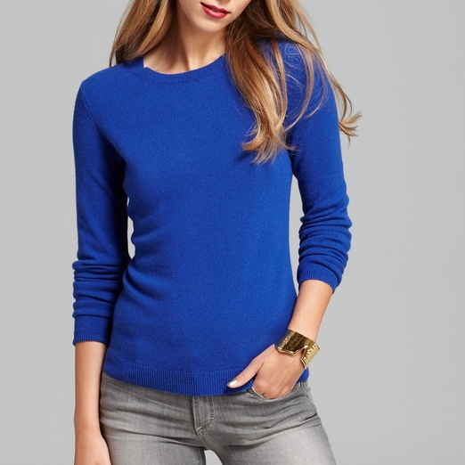 Best Cashmere Crewnecks - C by Bloomingdale's Cashmere Crew Neck Sweater