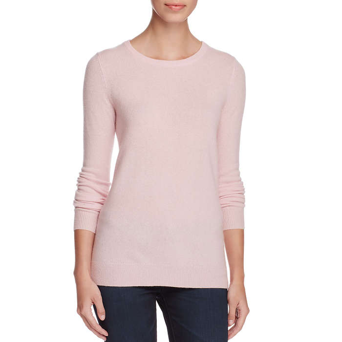Best Women's Cashmere Sweaters Under $200 - C by Bloomingdale's Cashmere Crewneck Sweater