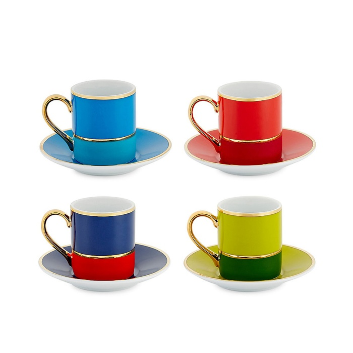 Best For the Career Women - C. Wonder Colorblock Espresso Set
