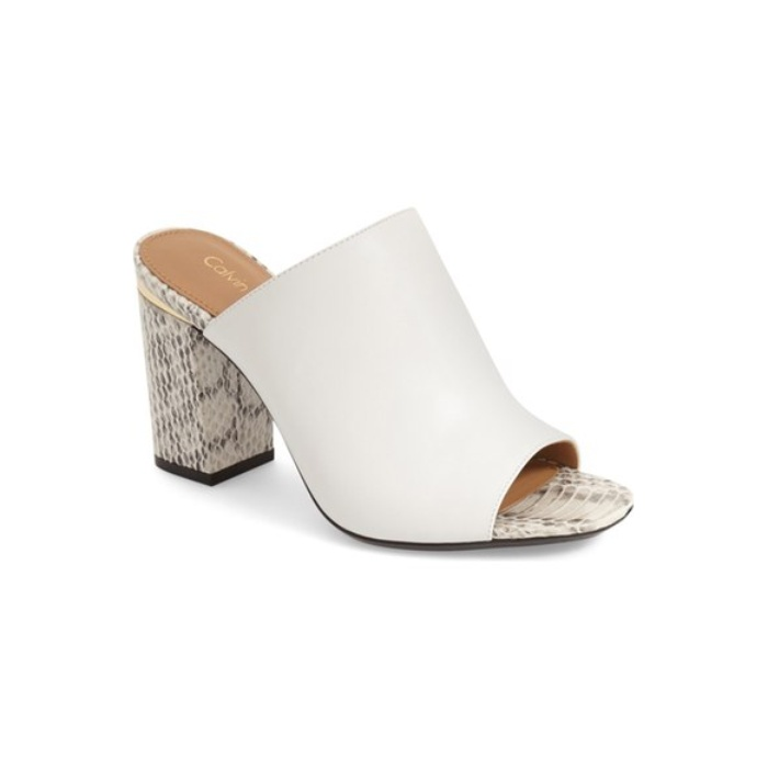 Best Mules for Summer - Calvin Klein 'Cice' Mule Sandal