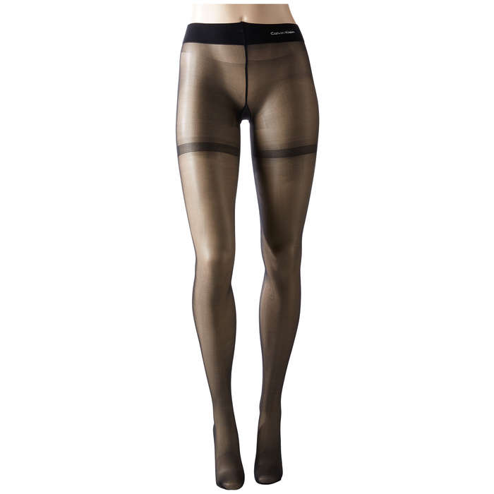 Best Sheer Shaping Hosiery Options - Calvin Klein Focused Shaping and Lifting Toner Pantyhose