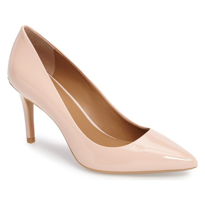 Best Comfortable Work Heels - Calvin Klein Gayle Pointy Toe Pump