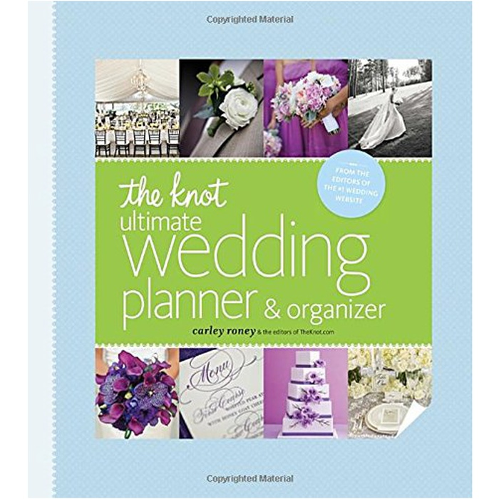 Best Wedding Planner Books - Carley Roney: The Knot Ultimate Wedding Planner & Organizer