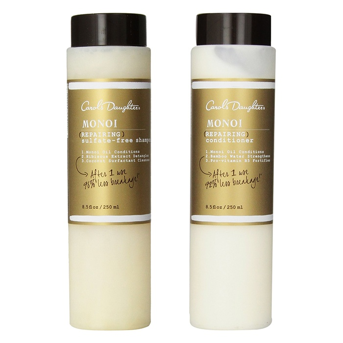 Best Shampoos & Conditioners for Winter - Carol's Daughter Monoi Repairing Sulfate-Free Shampoo and Conditioner