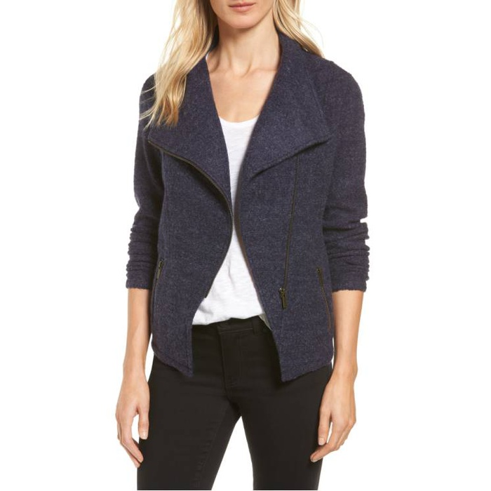 Best Fall Jackets Under $100 - Caslon Twill Peplum Jacket