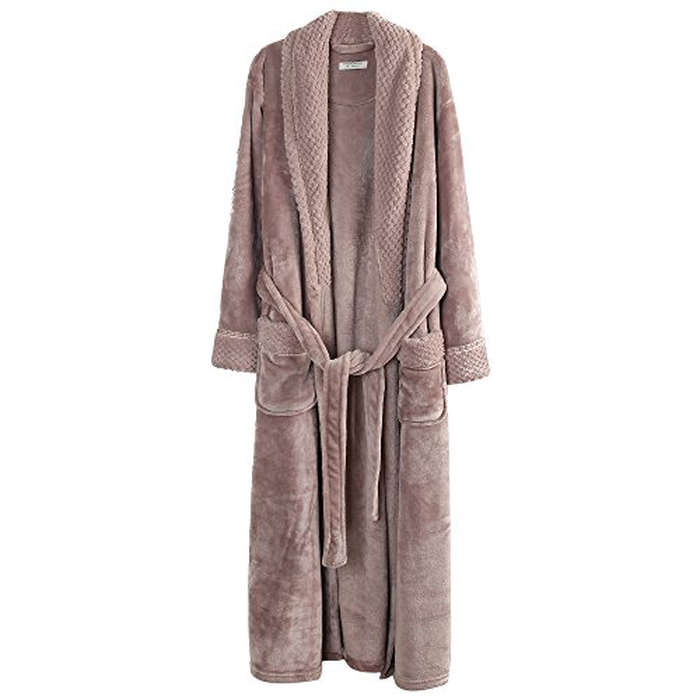 Best Gifts Under $50 on Amazon - Causal Moments Casual Moments Women's Fleece Bathrobe