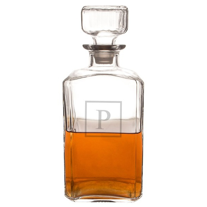 Best Father's Day Gifts Under $100 - Cathy's Concepts Monogram Spirits Decanter