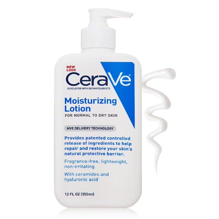 Best Lightweight Body Lotion - CeraVe Moisturizing Lotion