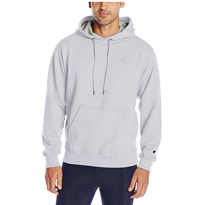 Best Men's Hoodies - Champion Powerblend Fleece Pullover Hoodie