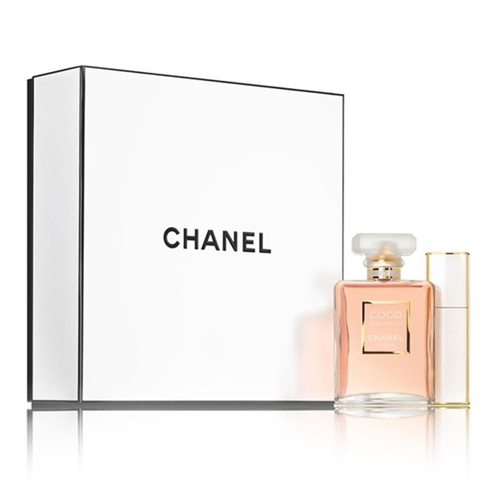 Best Women's Fragrance Gift Sets - Chanel CoCo Mademoiselle Travel Spray Set
