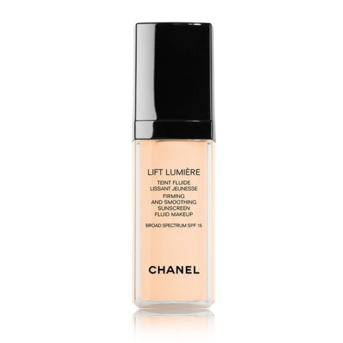 Best Foundations for Mature Skin - Chanel Lift Lumiére Firming & Smoothing Sunscreen Fluid Makeup