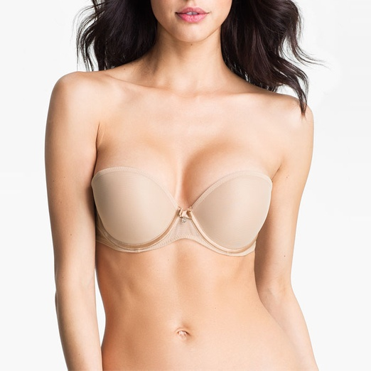 Best Nude Strapless Bras - Chantelle Intimates 'Sublime' Convertible Strapless Bra
