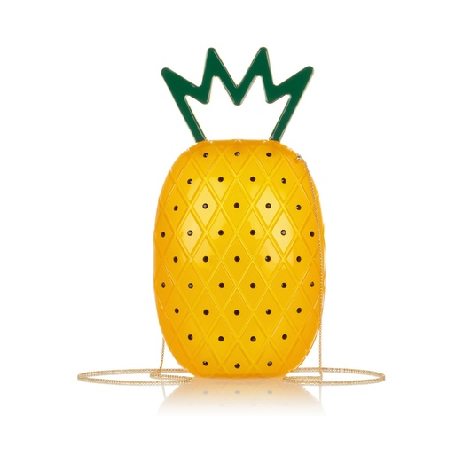 Best It's Raining Pineapples - Charlotte Olympia Ana embellished Perspex Shoulder Bag