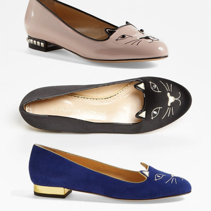 Best Novelty Loafers and Flats - Charlotte Olympia 'Kitty' Flat