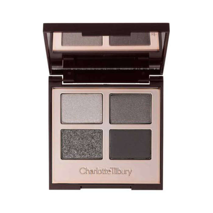 Best Eyeshadows for Your Eye Color - Charlotte Tilbury Luxury Color-Coded Eyeshadow Palette in The Rock Chick