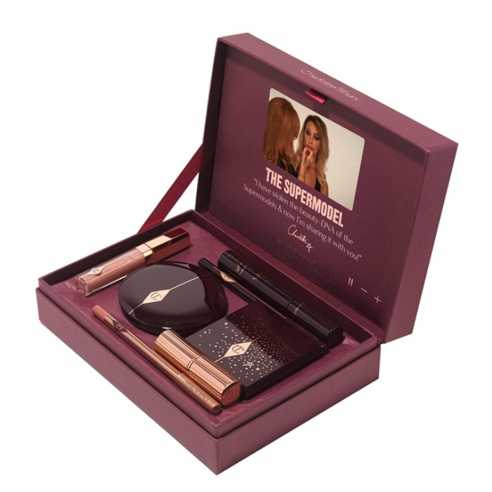 Best Best Beauty Gift Sets - Charlotte Tilbury The Supermodel Genius Tutorial Video Box