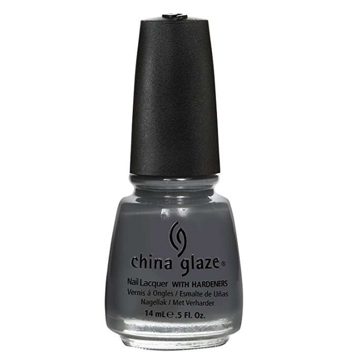 Best Grey Nail Polishes - China Glaze Nail Polish in Concrete Catwalk