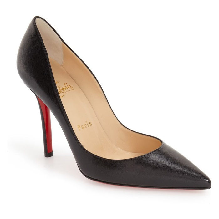 Best Comfortable Work Heels - Christian Louboutin Apostrophy Pointy Toe Pump