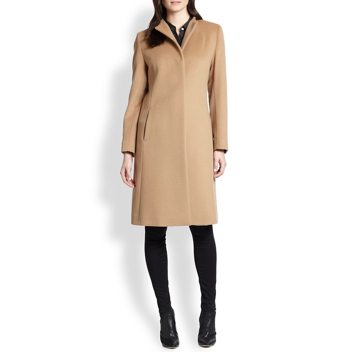 Best Camel Coats - Cinzia Rocca Wool Walking Coat