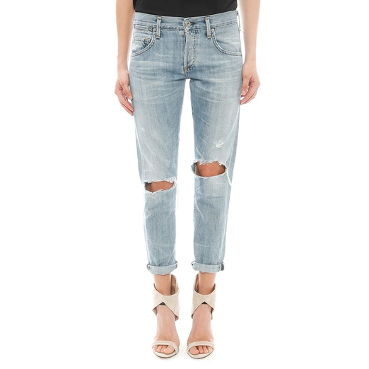 Best Ripped Boyfriend Jeans - Citizens of Humanity Emerson Slim Boyfriend Jean