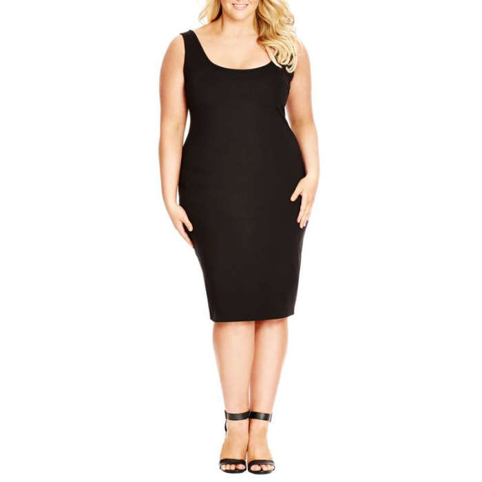 Best Plus Size Party Dresses - City Chic Basic Body Con Tank Dress