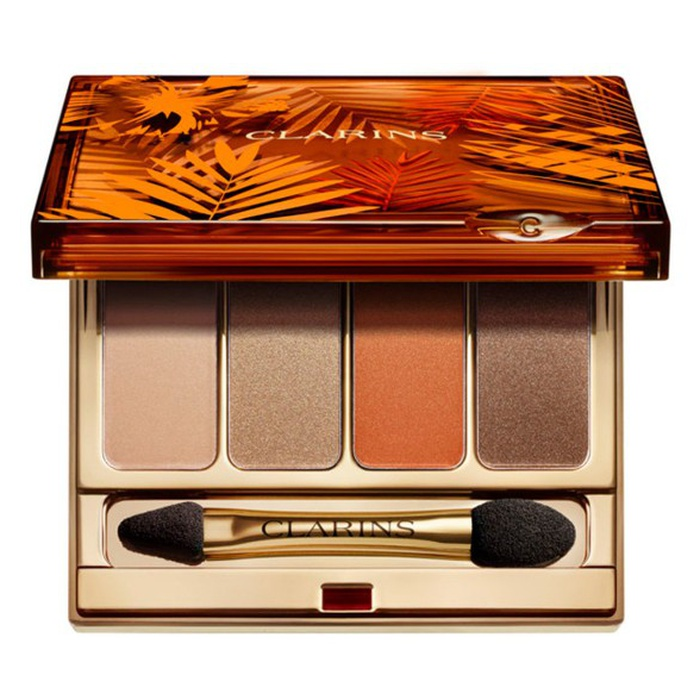 Best Summer Eyeshadow Palettes - Clarins Sunkissed 4-Color Eyeshadow Palette