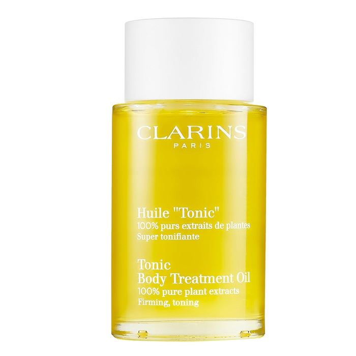 Best Body Oils for Winter - Clarins 'Tonic' Body Treatment Oil