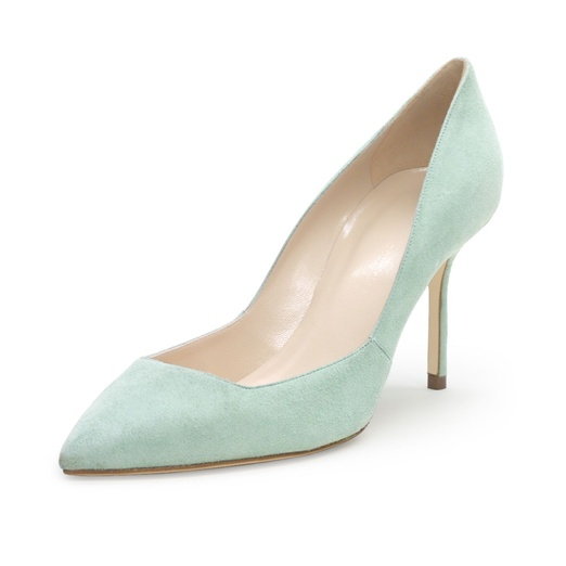 Best Pastel Shoes - Club Monaco Remi Suede Pump