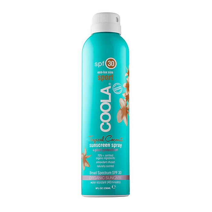 Best Natural Sunscreens - COOLA Sport Continuous Spray SPF 30