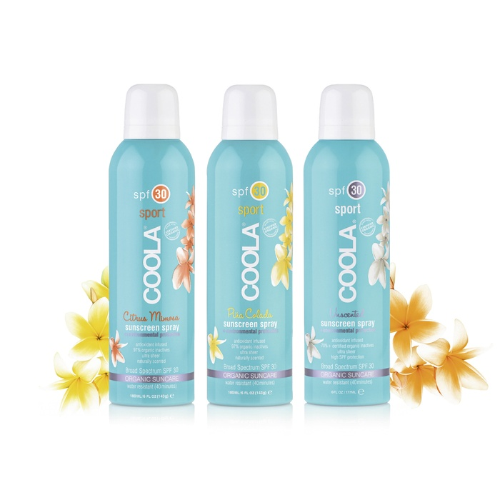 Best Natural Sunscreens for Summer '16 - Coola Sport Continuous Sunscreen Spray in SPF 30