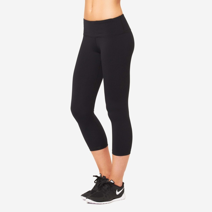 Best Yoga Pants Under $60 - Cory Vines The Path Crop Legging in Onyx