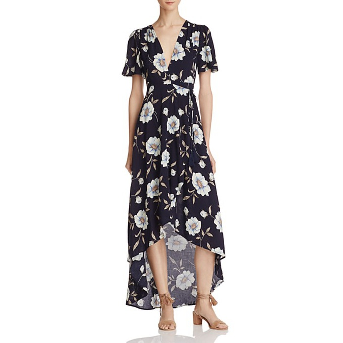 Best Floral Maxi Dresses - Cotton Candy LA Maxi Wrap Dress
