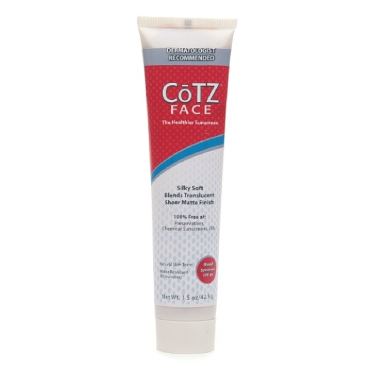 Cotz Face Sunscreen For Natural Skin Tones Spf