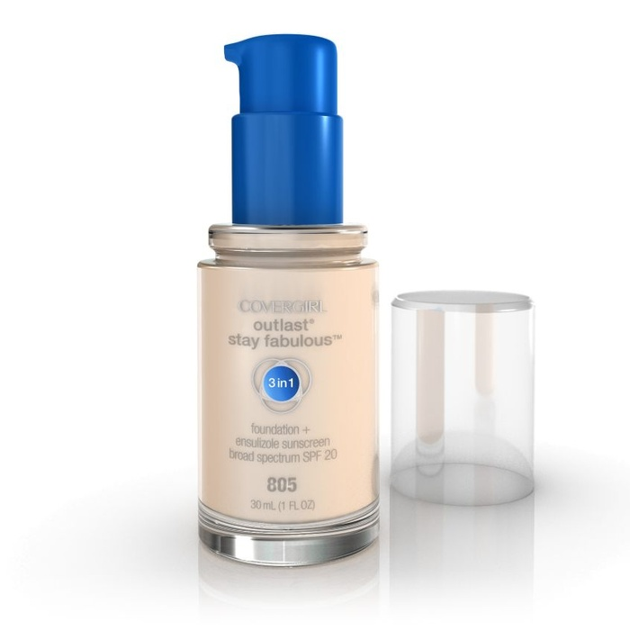 Best Best-selling Drugstore Foundations - CoverGirl Outlast Stay Fabulous 3-in-1 Foundation